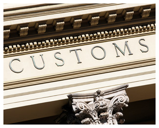 customs international shipping
