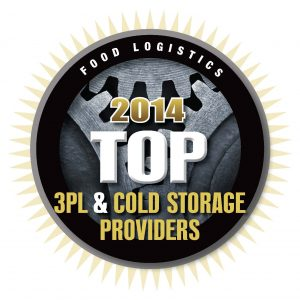 Top 100 3PL 2014 Cold Storage