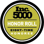 Inc. 500 Eight Time Honor Roll Logo